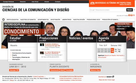 División de Ciencias de la Comunicación y Diseño