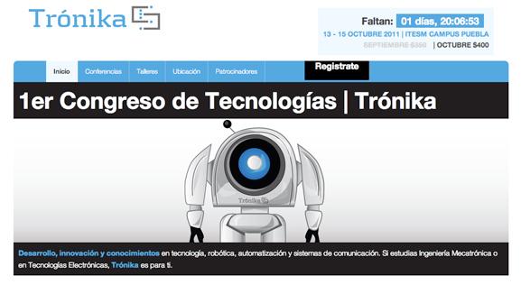 Trónika - 1er congreso de tecnologías